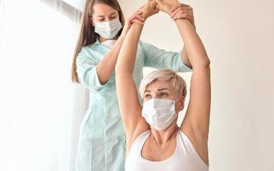 Fisioterapia para recuperarse del coronavirus